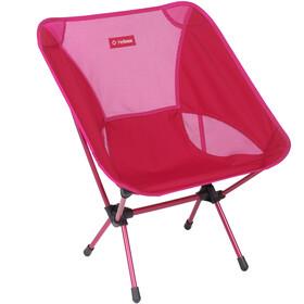 Helinox One Chaise, red block/burgundy